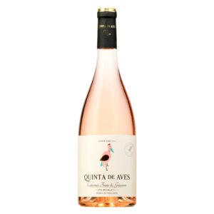 vino vegano vegan wine quinta de aves rosado