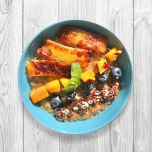 porridge hot cinnsamon
